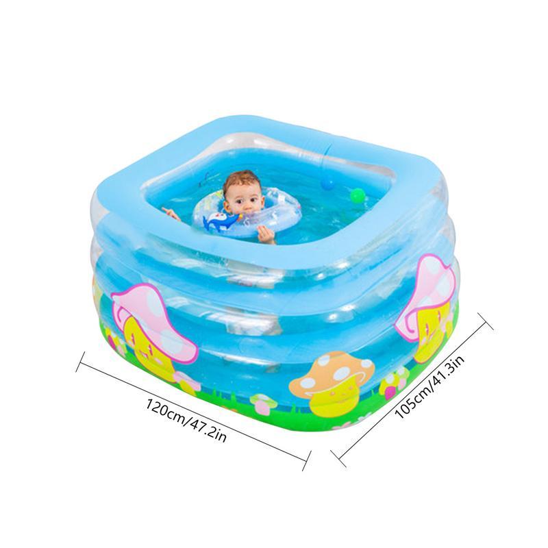 Meilleur Intérieur Extérieur Eau Jouer piscine gonflable piscine pour bébé Portable Enfants Bassin Baignoire ballon pour enfants Piscine Bébé De Natation - 6