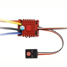 1 Set Waterproof Brushed ESC Controller 80A 2-3S With Program Card For 1:10 RC Cars Crawler