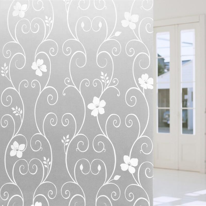 Frosted Privacy Opaque Glass Window Wall Sticker Glass