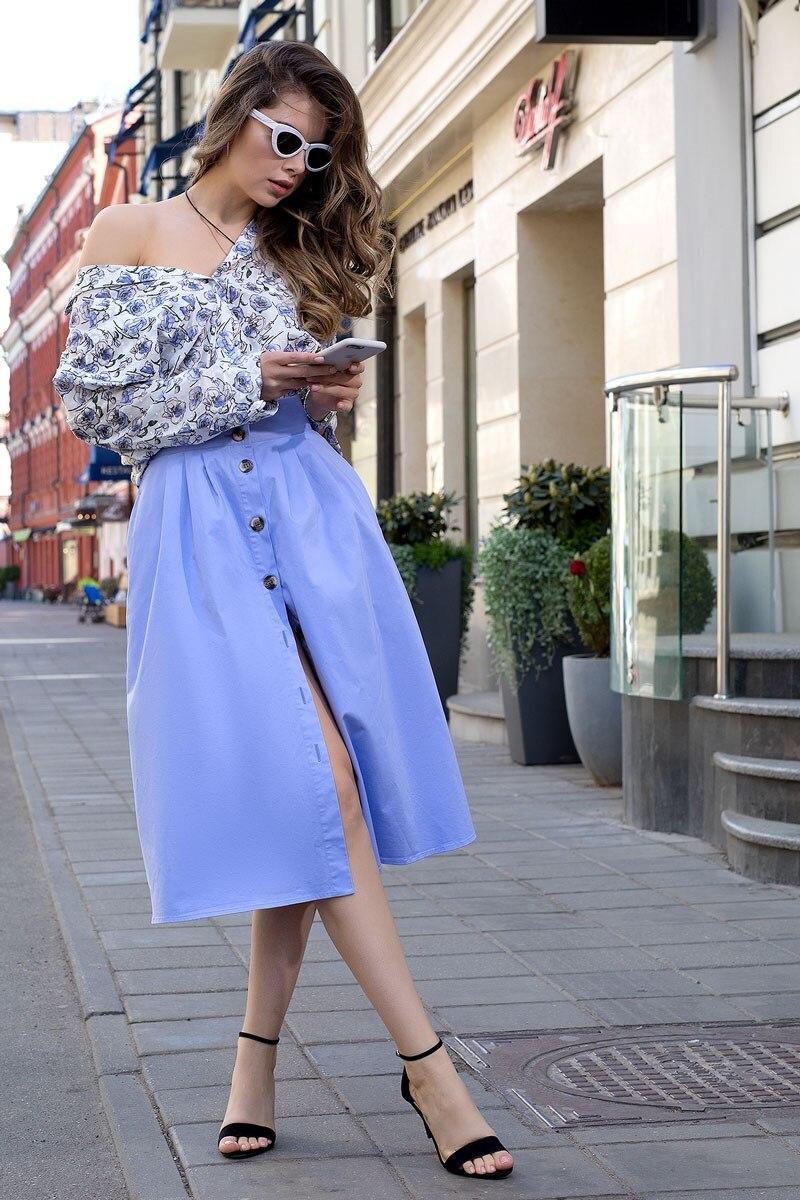 Skirt 2403643-71 plaid pencil skirt