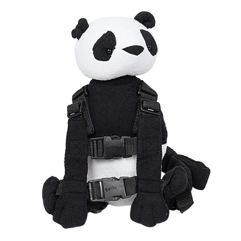 Panda Safety Harness Leash Strap Baby Kids Toddler Walking Cosplay Backpack Reins Bag