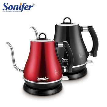 1.2L Colorful 304 Stainless Steel Gooseneck Electric Kettle 1500W Household 220V Quick Heating Electric Boiling Tea Pot Sonifer - DISCOUNT ITEM  40% OFF All Category