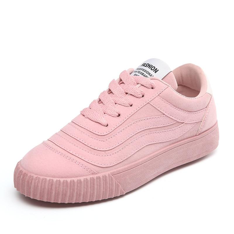 Autumm Chaussures Concepteur Bas Femmes De rouge Pour Toile À Décontractées gris Noir Printemps rose Décontracté Mode Couture Vulcaniser Sneakers Loisirs Lacets p5CqBB