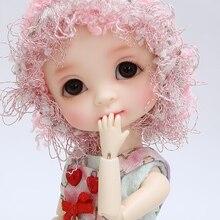 1/8 BJD Ollien Dollbom Fullset takım elbise sevimli tatlı kafa sürümleri hediye doğum günü veya noel