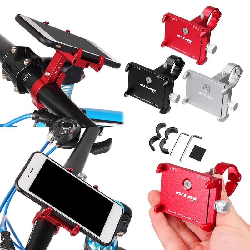 3.5 To 6.2 Inch Mobile Phone Stand Holder Adjustable Anti-Slip Hand Clip Stand Mount For Xiaomi Mijia M365 Scooter Skateboard