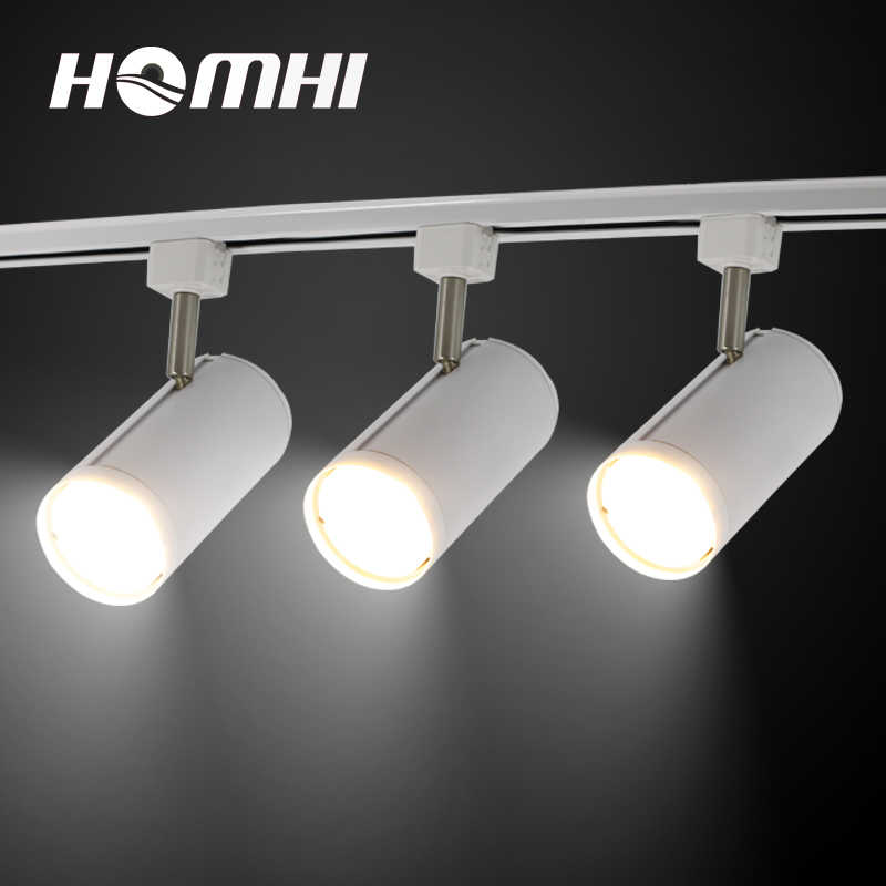 Led 20w Track Lights Light Fixtures Cob For Clothing