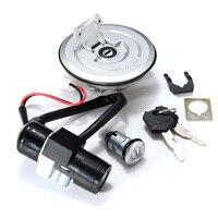 Motorcycle Ignition Switch Keys Lock Fuel Gas Tank Cap For Honda CBR125 CBR125R R CBR 125 125cc