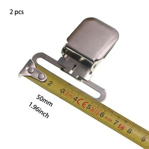 Металлические зажимы для чулок Paci, 2 шт./лот, 50, 40 мм
