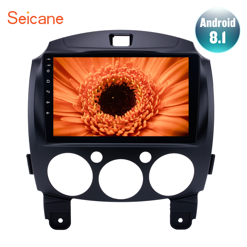 Seicane Android 8 1 9 RDS IPS 8 Core Car Radio Stereo for 2007 2014 MAZDA