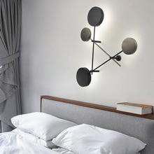 Nordic Light Novelty Led Wall Lamp Home Lighting Restaurant Fixtures Living Room Wall Sconces Iron Bedroom Wall Lights Luminaire цены