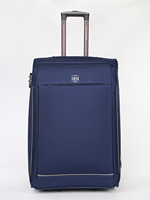 Large suitcase 2 wheels 74X46X33 Blue