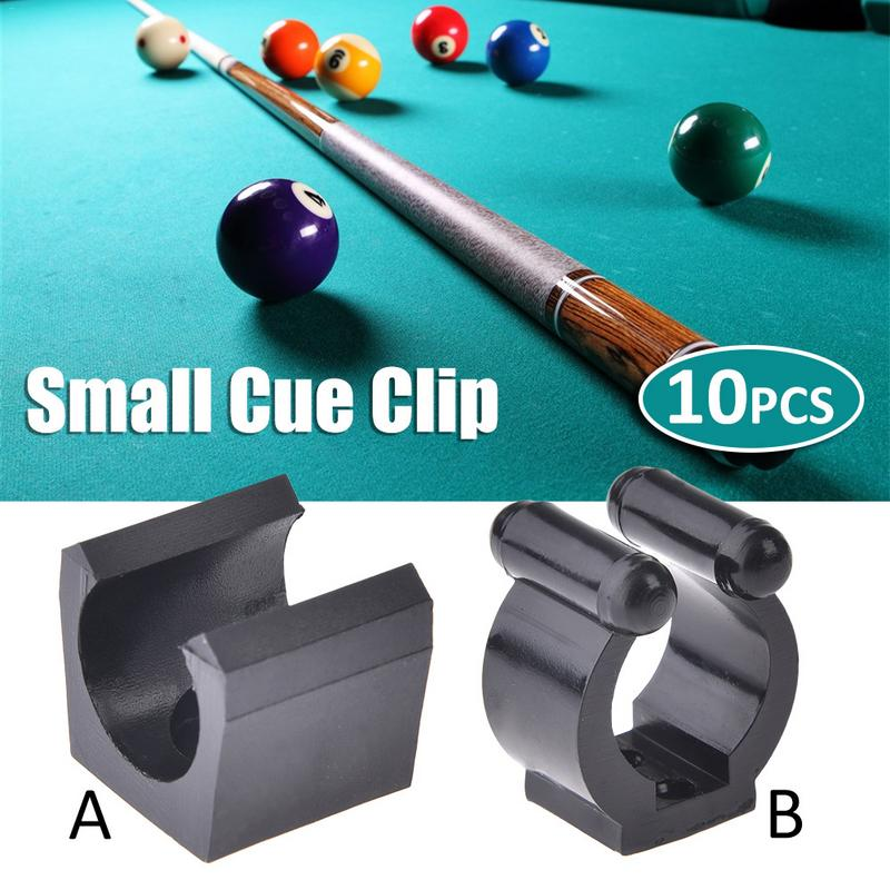 2019 New 10Pcs Billiards Snooker Cue Locating Clip Holder For Pool Cue Racks Set Snooker Billiard Accessories Billiard Supplies