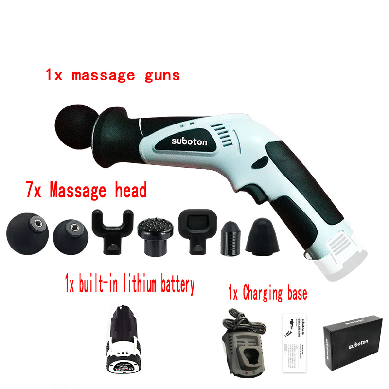 Body Muscle Massage Gun Electronic High Frequency Vibrating Deep muscle Therapy Massage Body Relaxing For Gun Aid Relief Pains in Massage Relaxation from Beauty Health