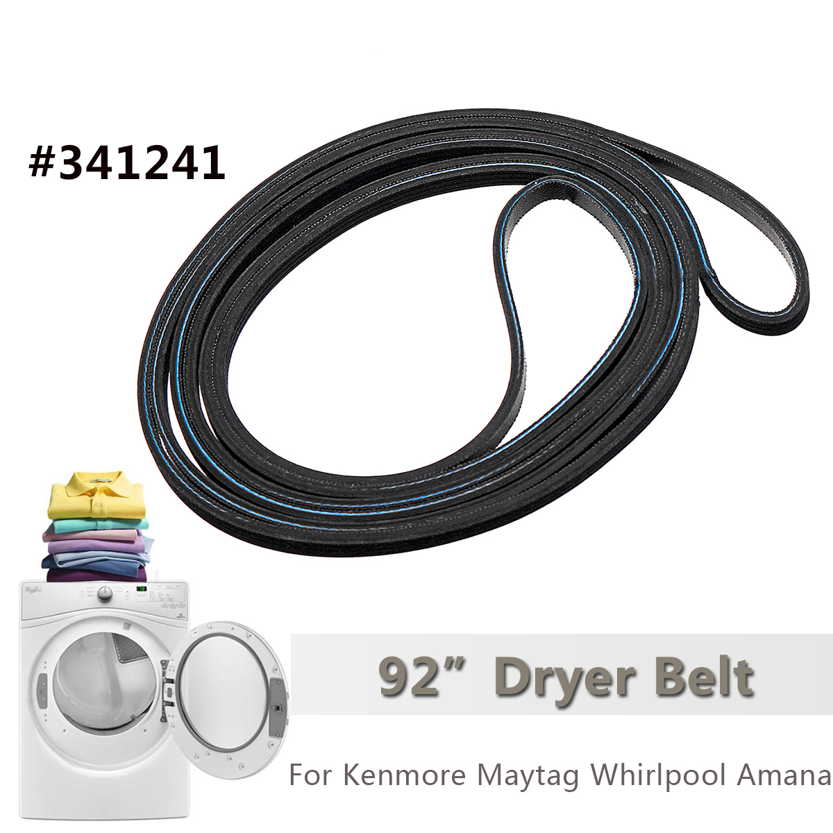 279838 Dryer Heating Element & Thermostat Kit Fuse 3392519