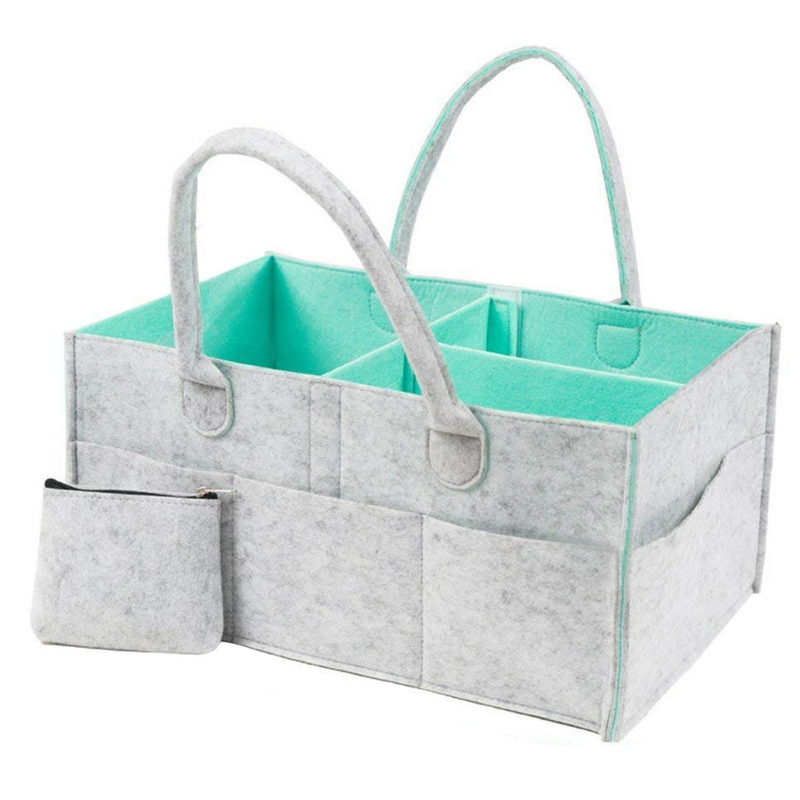 Storage bag baby diaper caddy storage box - nursery storage box baby shower gift basket