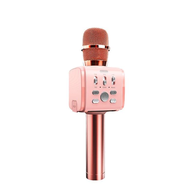 Joyroom Mc3 Wireless Karaoke Microphone Bluetooth 10W Speaker 2-In-1 Handheld Sing & Recording Portable Ktv Player For Ios/And