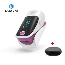 BOXYM OLED палец пульсоксиметр де dedo крови кислородом сердечного ритма измеритель насыщенности Saturometro мониторы CE