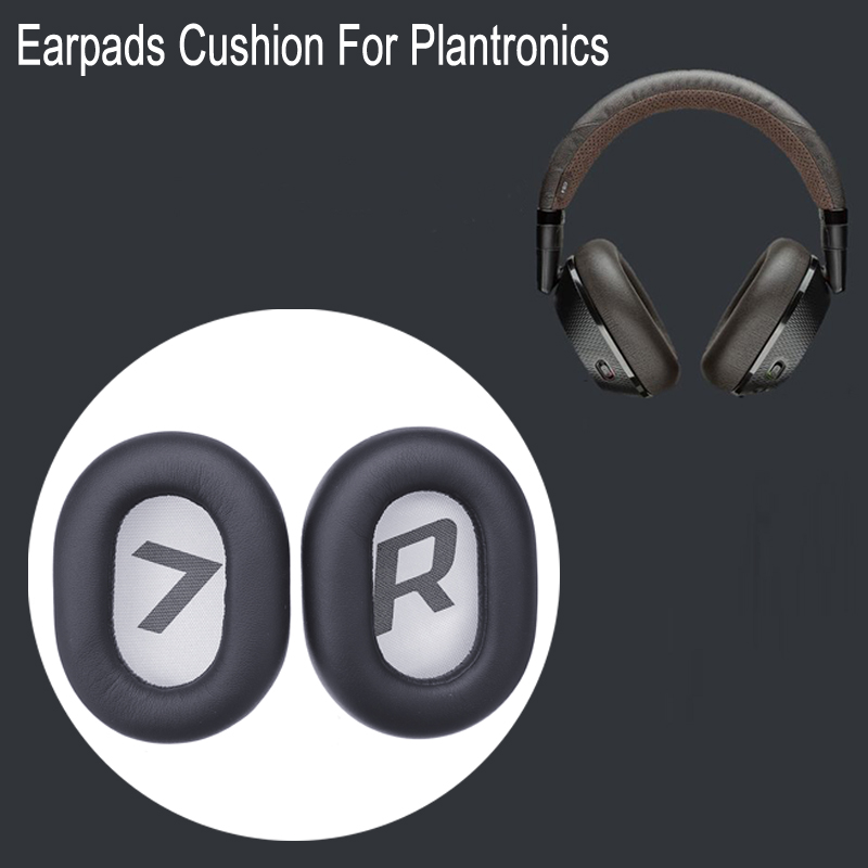2pcs Earpads Cushion Earmuffs Replacement For Plantronics-Backbeat Pro2 Wireless Noise Cancelling Headphone Sponge Headset Cover