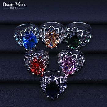 d82c93b29a2a De Lujo 925 anillos de plata esterlina para mujer boda compromiso  accesorios joyas de Zirconia cúbica gran promoción