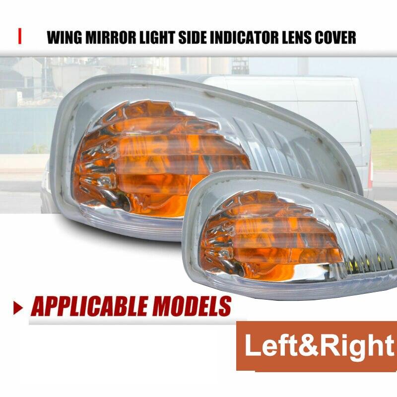 NEW Vauxhall Opel Movano Van LEFT N//S Wing Mirror Indicator Lamp Side Light