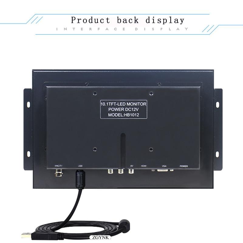 10.1 inch metaal ingebed 1080P HD touchscreen open medische IPS - Computerrandapparatuur - Foto 2