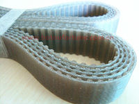 PU T10 and AT10timing belt round transmission belt 12mm width 1250mm length sell on one pack