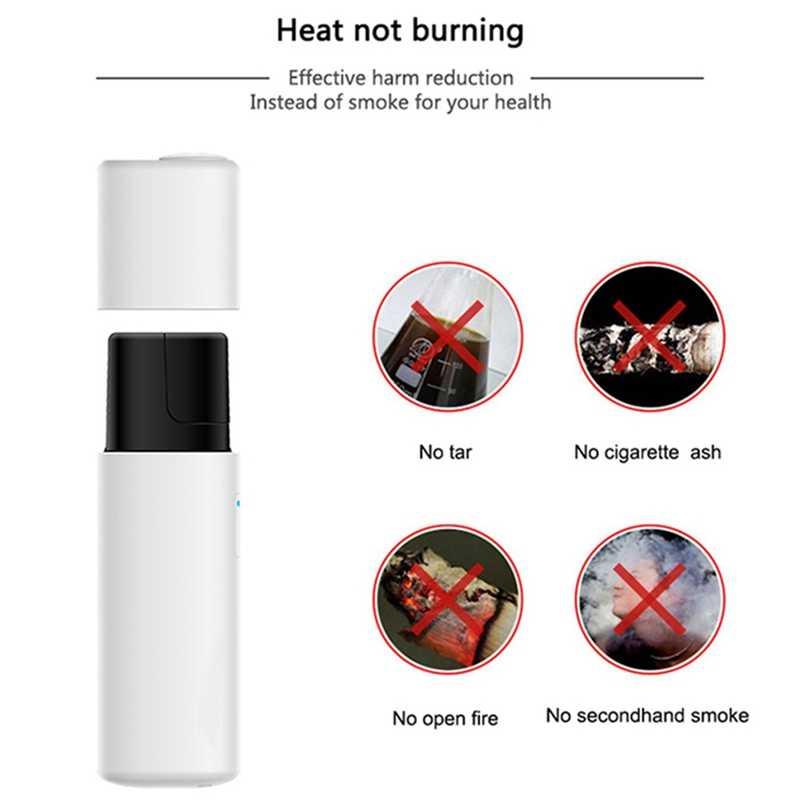 Leyiken Hot Yetr Amus-D1 Heat Not Fire Vape Pen Dry Herb Vape Without Burn  Electronic Cigarette For Heeting Cartridge Stick(Bl