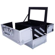 Travel Aluminum Professional Cosmetics Bag