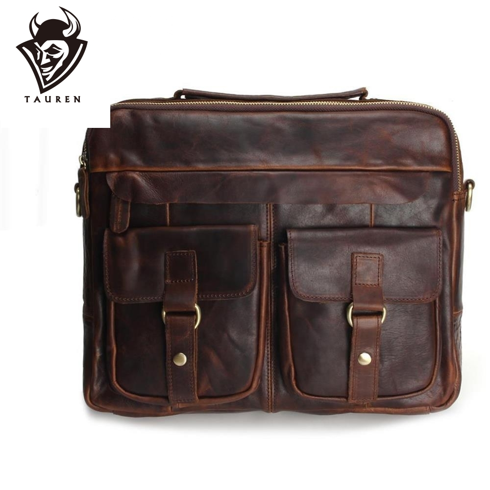 Genuine Leather Men Bags Fashion Man Crossbody Shoulder Handbag Men Messenger Bags Male Briefcase Men s