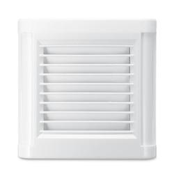15W 4 pulgadas silencio ventilación Extractor fuerte Extractor para ventana pared baño cocina montado 220V 100mm ventilador de pared
