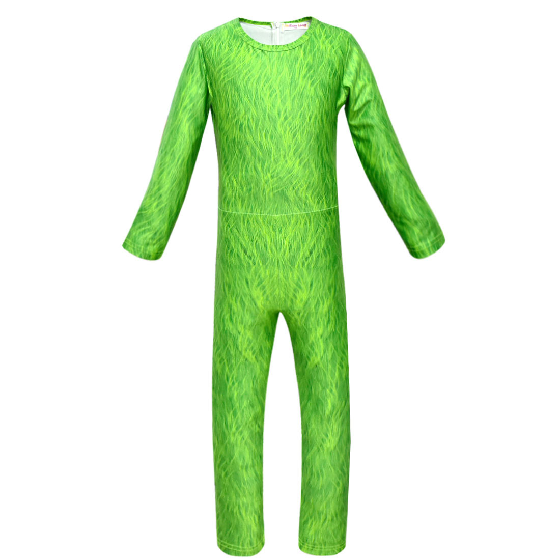 Kids Halloween Girls Boys Green Cartoon Jumpsuit Christmas Gift