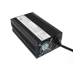 Image 5 - 29.2 V 20A Şarj 8 S 24 V LiFePO4 ebike için pil şarj cihazı denge EV pil şarj cihazı Alüminyum kabuk