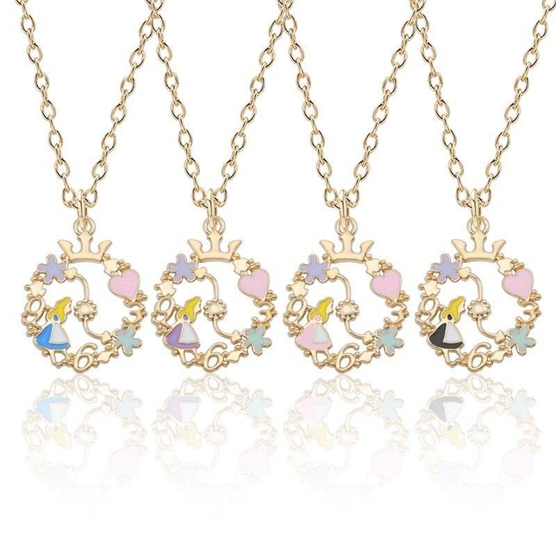 Aliexpress.com : Buy Alice In Wonderland Necklace Women ...