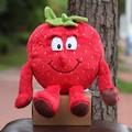 Christmas Halloween gifts new fruits vegetables pineapple Strawberry cauliflower mushrooms blueberries soft plush toys