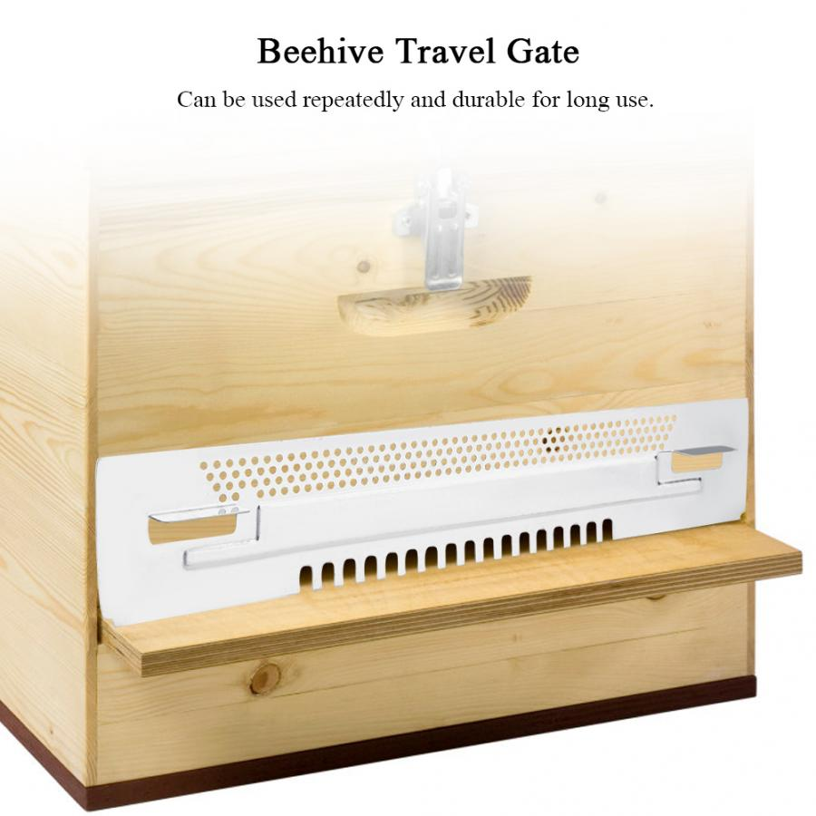 Travel Gates Beekeeping Equipment Breeding Tool Bee Hive Sliding Mouse Guards