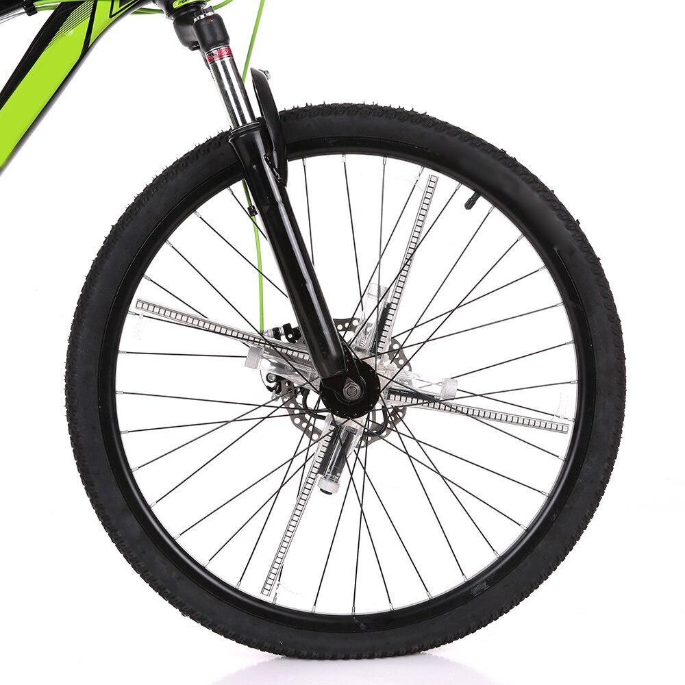Image 3 - 256/416pcs LED DIY światła rowerowe kolorowy rower koło szprychowe światła silnik MTB wyświetlacz Hub programowalna lampa światła na noc jazda w Oświetlenie rowerowe od Sport i rozrywka na