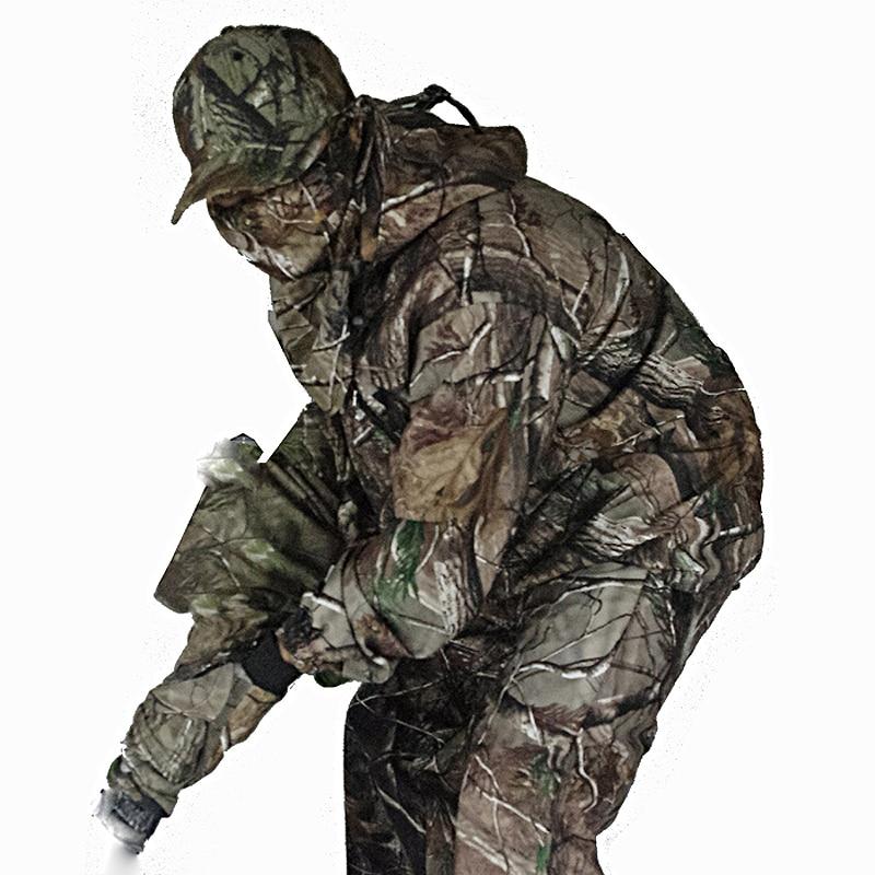 5 Pc hommes tactique Combat formation ensembles en plein air bionique Camping chasse Camouflage veste pantalon étanche Multicam Sniper costumes
