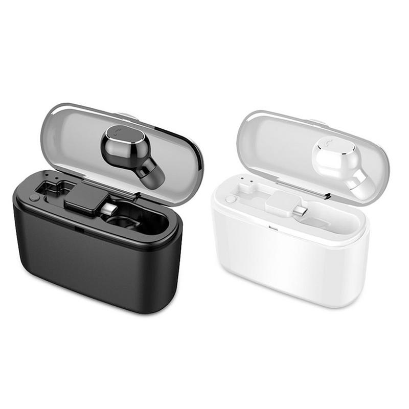 Wireless Bluetooth Earphone In-ear Mini Binaural TWS With Charging Compartment High Sound Quality Portable Small Charging Power image