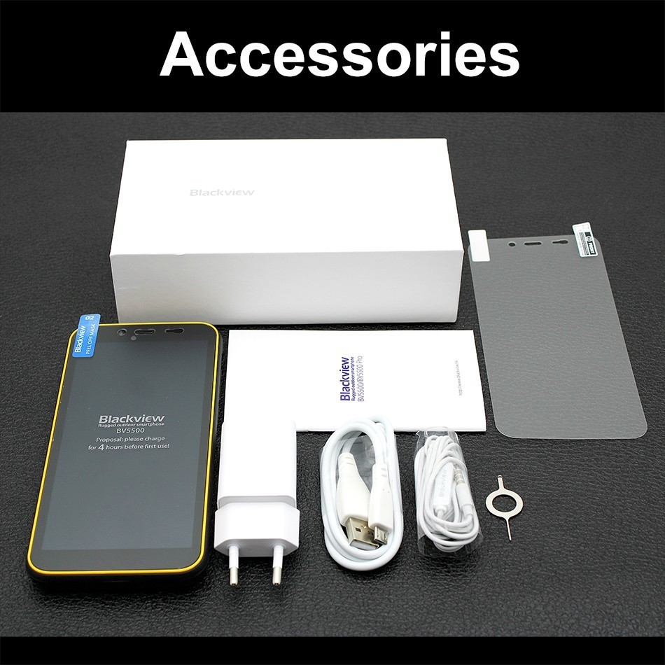 Blackview BV5500 waterdicht schokbestendig robuuste mobiele telefoon android 8.1 5.5 MTK6580 Quad core 2GB + 16GB 3G smartphone Dual sim - 5