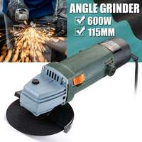 600W 115mm Electric Grinding Machine Sanding Cutting Grinding Machine 20000r/min 220V Angle Grinder Tool