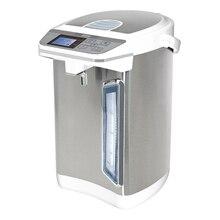 Термопот MYSTERY MTP-2442 (Мощность 700 Вт, объем 4.5 л, Закрытый нагревательный элемент, Шкала уровня воды с подсветкой, Отключение при недостаточном количестве воды, 2 способа налива воды, режим поддержания температ