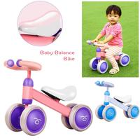 Baby Balance Bike Bicycle Children Walker 10 Month 36 Months No Pedal Balance Car Infant 4 Wheels Toddler First Birthday Gift