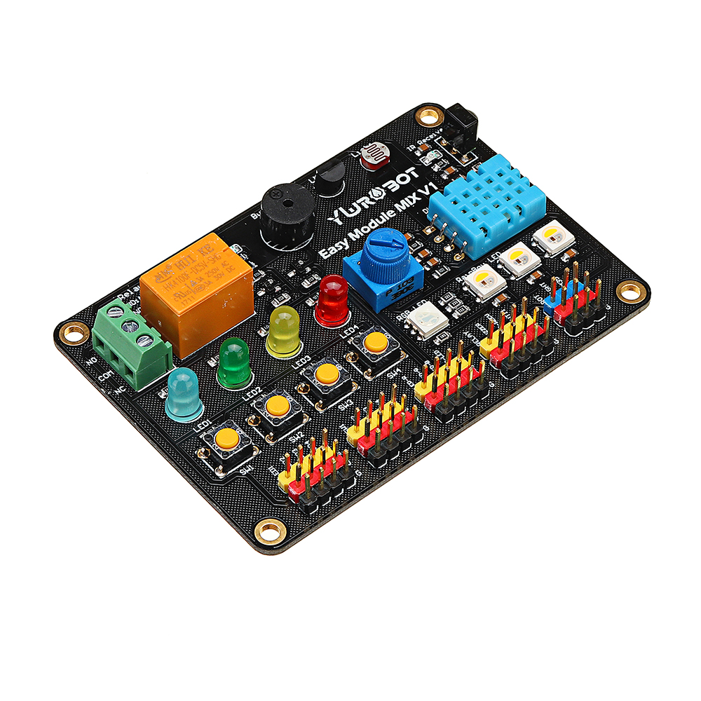 Easy Module MIX V1 Multi-function Expansion Board For Arduino  For UNO R3Easy Module MIX V1 Multi-function Expansion Board For Arduino  For UNO R3