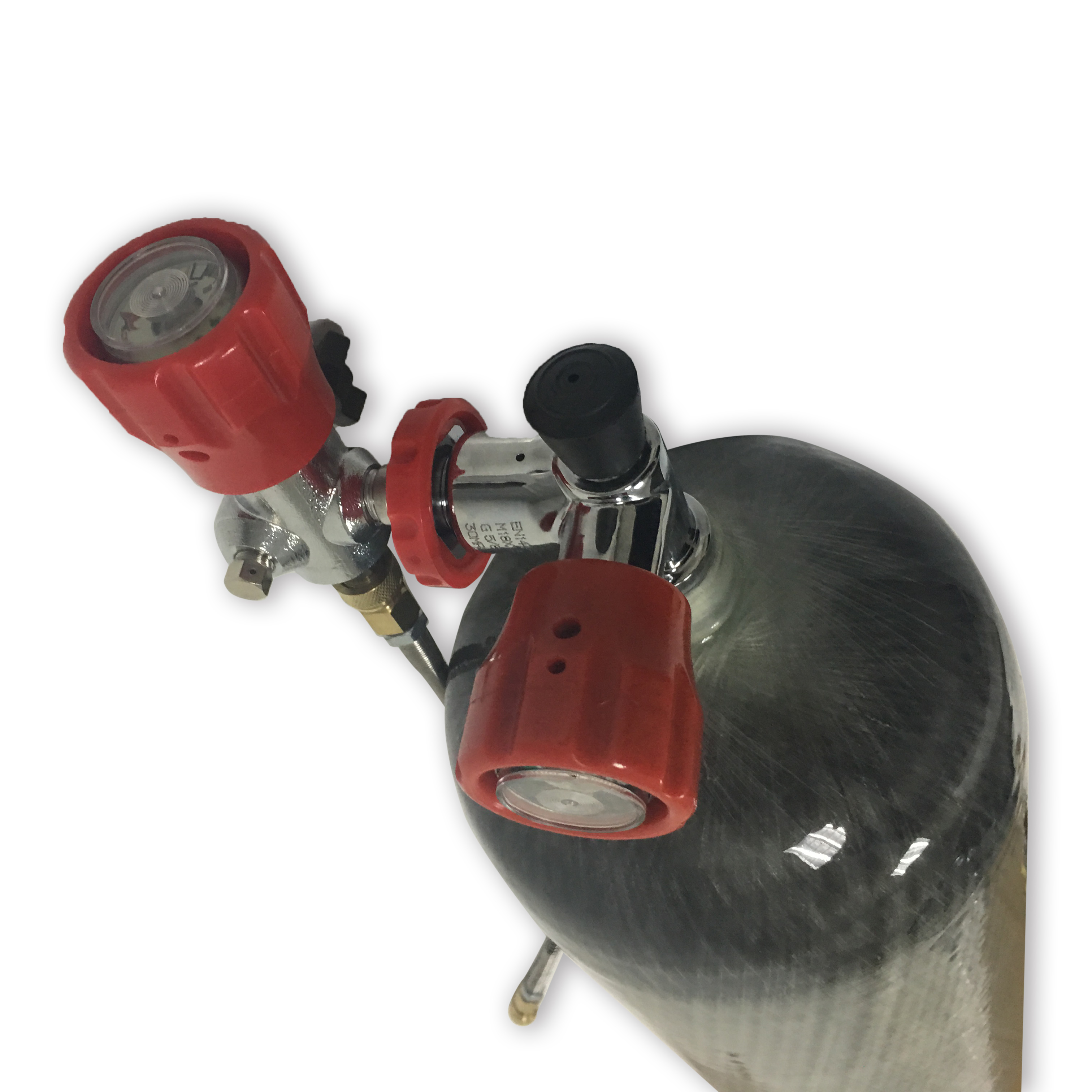 AC109101 hpa tank 4500psi scuba pcp rifle air carbon tank airforce condor valve diving cylinder mini scuba diving ACECARE hot in Fire Respirators from Security Protection