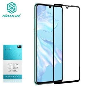 Image 1 - Voor Huawei P30 Gehard Glas Voor Huawei P30 Pro 3D Glas Nillkin Cp + Max Volledige Cover Screen Protector