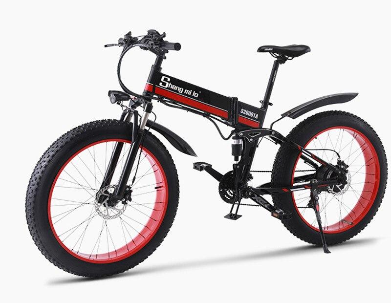2019 nouveau puissant Scooter électrique 1000 W 48 V deux roues vélo électrique hors route neige électrique VTT