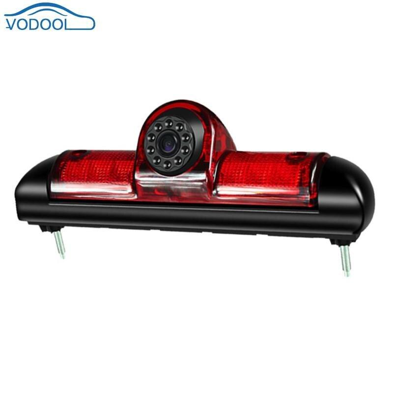 Car 3rd Brake Light IR Night Vision Rear View Camera IP68 Waterproof Camera for Peugeot Boxer