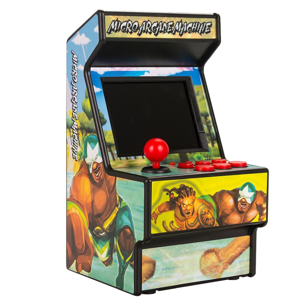 Image 3 - Wolsen 16 Bit mini Arcade games video portable retro game console arcade cabinet TV handheld game built in 156 games-in Video Game Consoles from Consumer Electronics