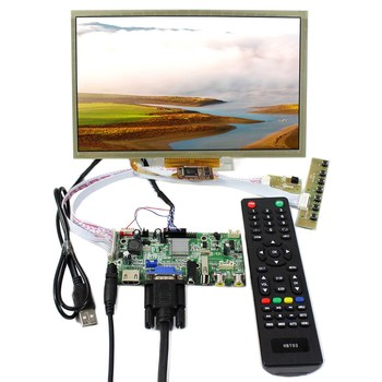 10.2inch  1024x600 Capacitive Touch Panel LCD Screen HSD100IFW1 CLAA102NA0ACW HDMI+VGA+AV+USB LCD Controller Board