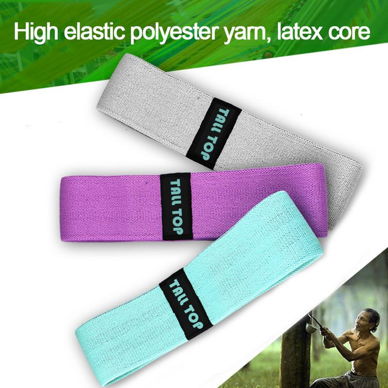 New Non slip Hip Band Yoga Pull Belt Hip Training Exercise Resistance Band High Strength Fitness Equipment Elastic Pull Ring in Resistance Bands from Sports Entertainment
